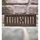 Cast iron Air ventilation brick