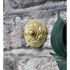 'Rococo' Polished Brass Bell Push