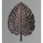 Large Black Palm Leaf Ornamental Wall Art