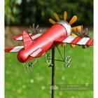 Back Of Aeroplane Garden Wind Spinner