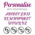 Letters available for personalisation