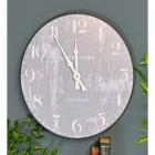 Unique modern interior wall clock