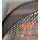 Close-up of the Mesh on the Arched Box Style Fire Guard