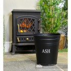 Contemporary Ash Bucket in Situ by the Fire