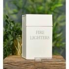 Cream Fire Lighters Box