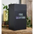 Black Fire Lighter Box