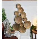 Circular Bronze Wall Art