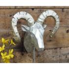 Silver Ram's Head