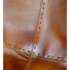 Close up of visible stitching