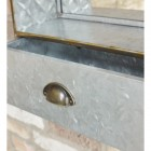 Close up of drawer compartment