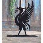 Liver Bird Door Stop Created Out of Iron