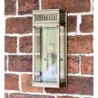 Modern Bronze Wall Lantern