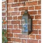 Rustic Nautical Wall Light on Brick Wall