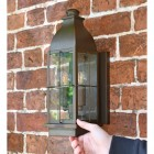Rustic Nautical Wall Light to Scale
