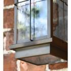 Rustic Nautical Wall Light Frame Close Up