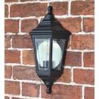 Traditional Flush-Fix Wall Lantern