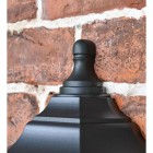 Traditional Flush-Fix Wall Lantern Upper Finial