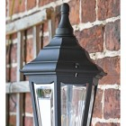 "Close up of ""Keyston"" lantern with finial"