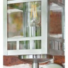 Stainless Steel Wall Lantern Detailing