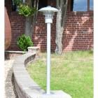 Modern Stainless Steel Driveway Pillar Light
