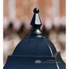 Close-up of the finial on the Top of the Lid