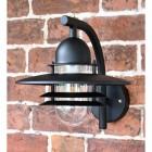 Modern Black Overhanging Wall Light