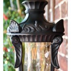 Close up of decorative lantern top