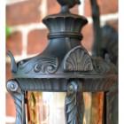 Close up on lantern detailing