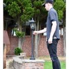Hexagonal Lantern & Post