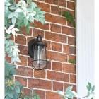 Antique Bronze Top-Fix Nautical Wall Light