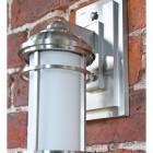 Close up of wall lantern