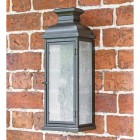 Traditional Aged Copper Wall Lantern
