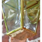Polished Brass Top-Fix Lantern Clear Panes