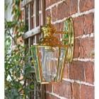 Polished Brass Top-Fix Lantern Side Profile
