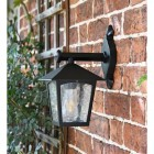 Traditional Black Wall Lantern