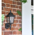 Black Traditional Wall Lantern