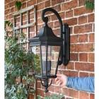 Large Black Ornate Wall Lantern