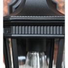 Close up of lantern detailing
