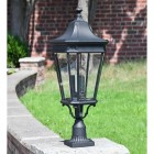 Black Pillar Lantern