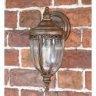 'Sandyway' Traditional Bronze Top Fix Wall Lantern