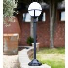 Contemporary Driveway globe lantern  lamp post