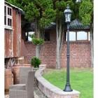 Classic Black Lamp Post