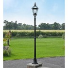 Traditional Black Lamp Post