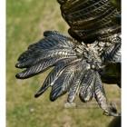 Golden Eagle Catching Fish Garden Ornament