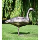 Cast Aluminium Bronze Finish Geese Garden Sculpture