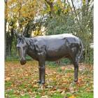 Donkey Garden Sculpture in full