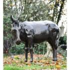 Donkey Garden Sculpture