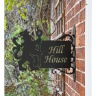 Lion & Staff House Name Sign