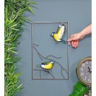 Blue Tit Wall Art to Scale