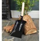 Traditional Wooden Handle Shovel